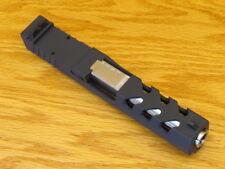 Rock Slide USA Complete Pistol Slide & SS Barrel For Glock 19 GEN3 9mm RMR Black