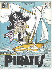 1960 PITTSBURGH PIRATES OFFICIAL YEARBOOK