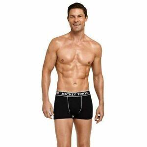 5 X Jockey Tokyo Cotton Trunk - Trunks Black Comfort Mens Underwear Jocks