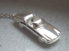 Schlüsselanhänger Jaguar XJS Cabrio versilbert 5105