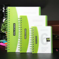 A6/A5/B5 Spiral Coil Number Notebook Diary Journal Stationary Note Book Memo #B9