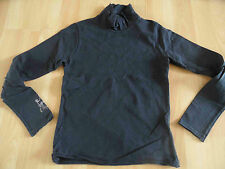 CHIPIE schönes Shirt mit hohem Kragen blau Strass Hund Gr. 10 J /140 TOP (KJ814)