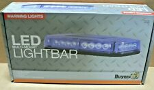 Buyers Products 8891044 15 Inch Octagonal BLUE 24 LEDs Mini Light Bar MAGNETIC