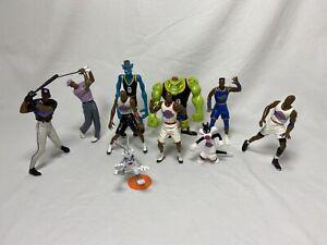 1996 Space Jam Action Figure Basketball Lot Jordan Monstars Looney Tunes