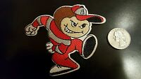"""OSU Ohio State Buckeyes Vintage RARE Embroidered Iron On Patch 3"""" x 3"""""""