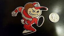 "OSU Ohio State Buckeyes Vintage RARE Embroidered Iron On Patch 3"" x 3"""