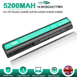 14.8V HSTNN-UB33 HSTNN-IB34 Battery For HP Pavilion DV9000 DV9000T DV9040 DV9200