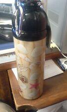 Good Life Gear SS Water Bottle 24oz SEASHELL Print Design, New