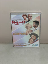 The KING And I, SOUTH PACIFIC, OKLAHOMA ! NEW/ SEALED DVD SET (FREE UK P&P)