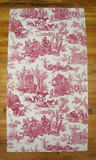 Antique Rare Beautiful 19th C. French Scenic Toile Wallpaper  (2011)