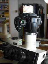 Olympus BH2 microscope Trinocular camera adapter using a T2 bayonet