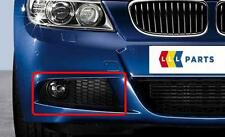 BMW E90 E91 08-11 M SPORT NEW FRONT O/S RIGHT BUMPER LOWER GRILL+FOG SUPPORT