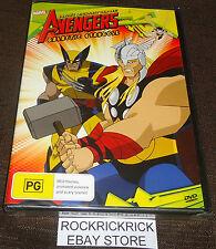THE AVENGERS - GALACTIC STRUGGLE DVD (7 EPISODES) (BRAND NEW SEALED)