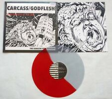 """Carcass / Godflesh """"The Earache Peel Sessions"""" Wound (Not Wound) Red/Clear Vinyl"""