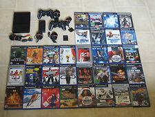 Playstation 2 Slim Konsole mit 5 Gratis Spiele + 2 Controller + MC #444 LESEN!!!