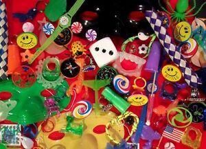 100 Kids novelty trinkets Children TOY Giveaway Carnival Rewards Assorted PRiZEs