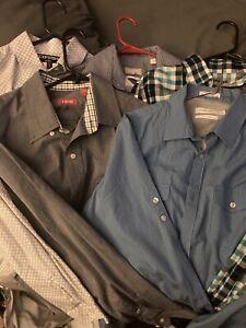 Michael Kors, Express, Calvin Klein 5 Long sleeved Shirts! Must Go Now!
