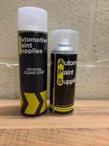 BMW  code 354 Titan silver paint pearl aerosol spray can +clearcoat aerosol