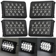 """Eagle Lights 4"""" x 6"""" SLIM LINE Multi LED Projection Headlight 4 Pack Hi and Low"""
