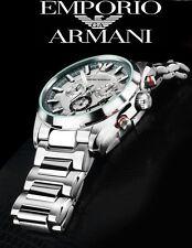 EMPORIO ARMANI MEN'S LUXURY COLLECTION CHRONOGRAPH WATCH AR6036