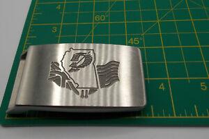 Vintage R.J. Bettinardi Belt Buckle Sculpted Metal Georgia Golf Flags Great Find