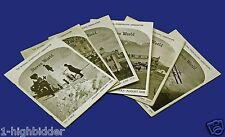 6- Stereo World Vol 5 National Stereoscopic Assoc 1978-1979 Viewers Cards Slides