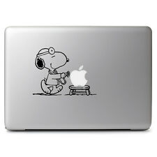 Peanuts Doctor Snoopy Vinyl Decal Skin Sticker for Macbook Air Pro 11 13 15