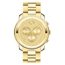 Movado 3600667 Bold 44mm Men's Chronograph Gold-tone Stainless Steel Watch