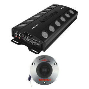 """Audiopipe Car Audio Package w/2000W MOSFET Amp and 2 3.75"""" Titanium Pro Tweeters"""