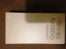 Samsung Galaxy S6 Edge SM-G925W8 64 GB Gold Unlocked Used in Very Good Condition