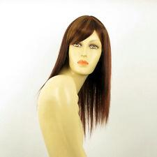 Perruque femme mi-long Châtain Cuivré Méché Blond Clair/rouge VERA 33H130