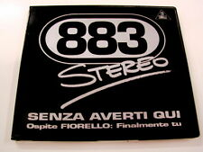 883 - FIORELLO SENZA AVERTI QUI - CD SINGOLO 6 BRANI