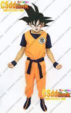 DragonBall Z Goku cosplay costume custom-made free shipping