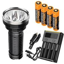 Fenix TK75 2015 4000 Lumen Flashlight, 4x Fenix 18650 Batteries, Smart Charger
