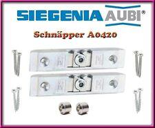 2 X SI Siegenia Balkontür Schnäpper Balkontürschnäpper A0420 / 0420 mit hülse