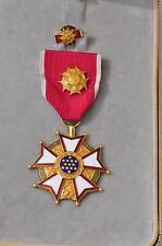 LEGION OF MERIT LEGIONNAIRE ORIGINAL NAMED WITH BOX
