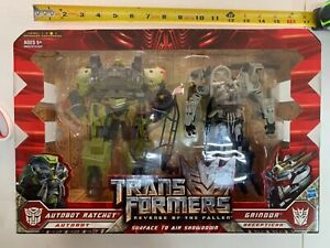 Transformers Revenge of the Fallen ROTF - RATCHET & GRINDOR - NEW Sealed - 00700