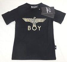 Boy London Boy Eagle Kids Tee Schwarz/Gold Kinder Jungen 5-6 Jahre
