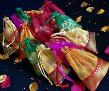 100* Assorted Organza Mehndi Table Decoration Wedding Favour Party Bid Gift Bags