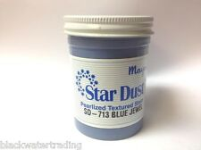 Mayco Ceramic Star Dust Pearlized Textured Stain Vintage 4 Oz. Sd-713 Blue Jewel