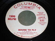 """Taro Delphi: Bound To Fly / Song From """"Woman Time Seven"""" (What To do) 45"""