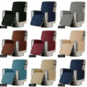 Sofa Recliner Chair Cover with Non Slip Strap Slip Cover for Recliner Protector