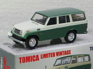 Tomica Land Cruiser FJ56V Type Green Tomica Limited Vintage Car
