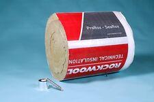 8,0m/30mm Rauchrohrisolierung Set Steinwolle bis +500°C Anwendungstemp. Rockwool