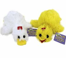 WILD REPUBLIC Inside/ Out Chick & Duck Plush Toy 2-IN-1 with Sounds SpringEaster