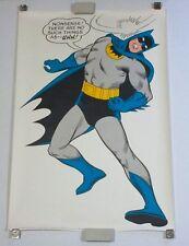 1966 Original Batman 40 by 27 DC Detective Comics poster 1: 1960's/Infantino art