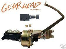 "1928 - 1931 Ford Model A Power Brake Booster Kit 7"" Single + Adjustable Valve"