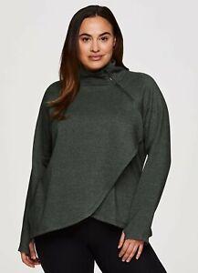 RBX Plus Prime Ready To Roll Fleece Zip Mock Neck Pullover