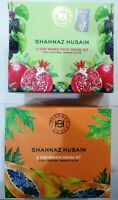 SHAHNAZ HUSAIN Ayurveda 5 Step Papaya Facial Kit |5 Step Mixed Fruit Facial Kit
