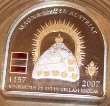 5 Dollar Cook Island 2007 silber Magna Mater Austriae Vatikan